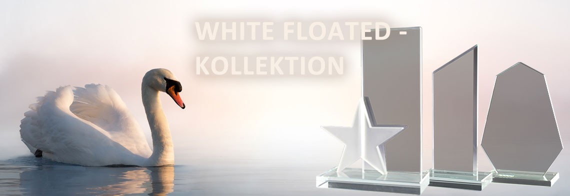 WHITE FLOATED